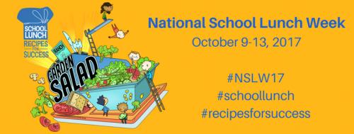 National School Lunch Week October 9-13, 2017