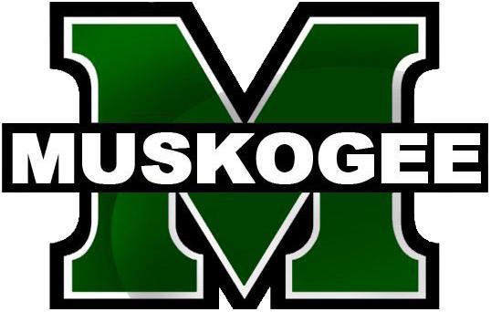 Muskogee Public Schools M Muskogee logo