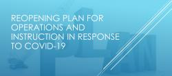 District Reopening Plan for 2020 in Response to COVID-19