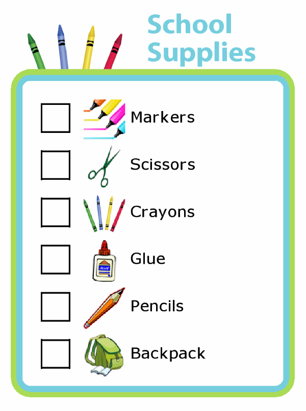 2020-21 School Supply Lists