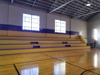 Old Gym South Side Bleachers