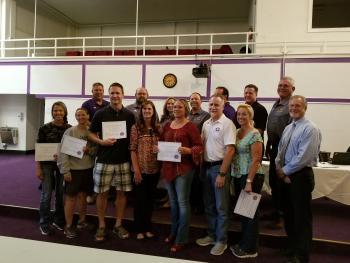 Volunteer Fixer-Uppers Recognized at School Board Meeting for Hard Work