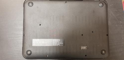 Bottom view of Lenovo N21