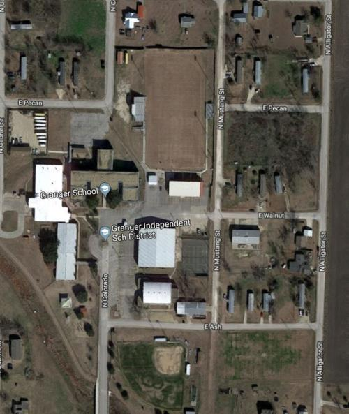 Satellite View of Granger ISD
