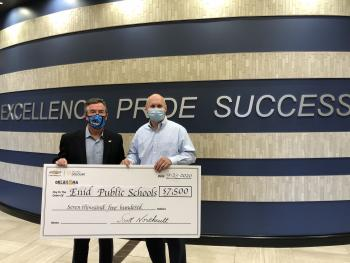 Northcutt Chevrolet-Buick provides support to Enid students
