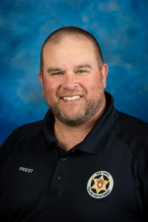 Jason Priest, Director of Safety & Security/Chief of Police