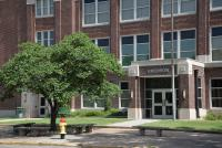 Landscape View facing Emerson Middle School