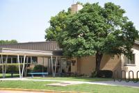 Landscape View facing Monroe Elementary School