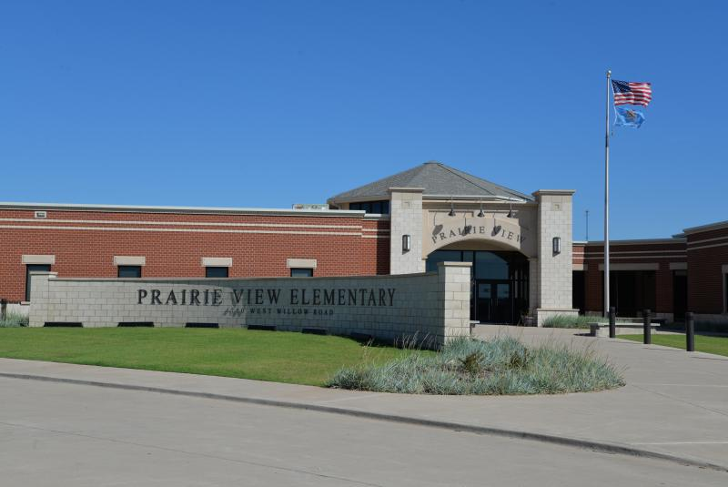 Landscape View facing Prairie View Elementary School