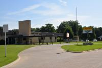 Landscape View facing Hoover Elementary School