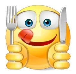 emoji with fork and knife