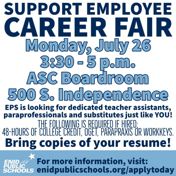 support career fair