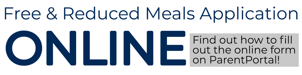 Free & Reduced Meals Online Application