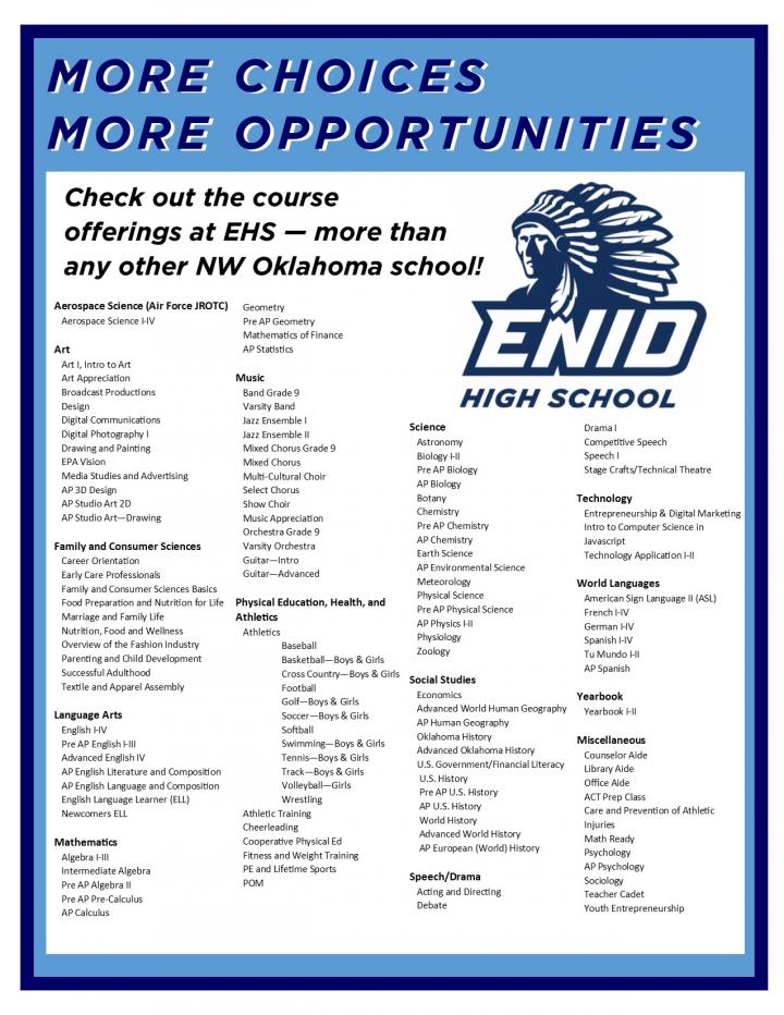 EHS Course Offerings