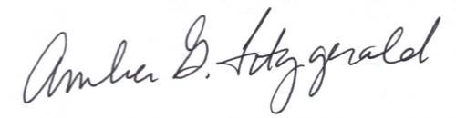 Amber's Signature