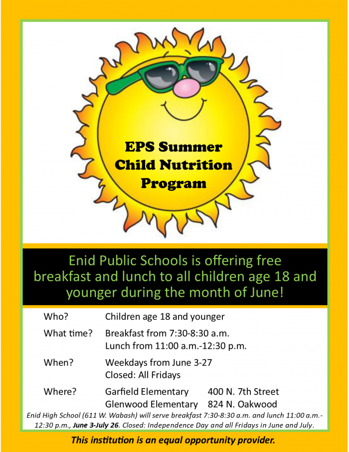 Summer Nutrition Program