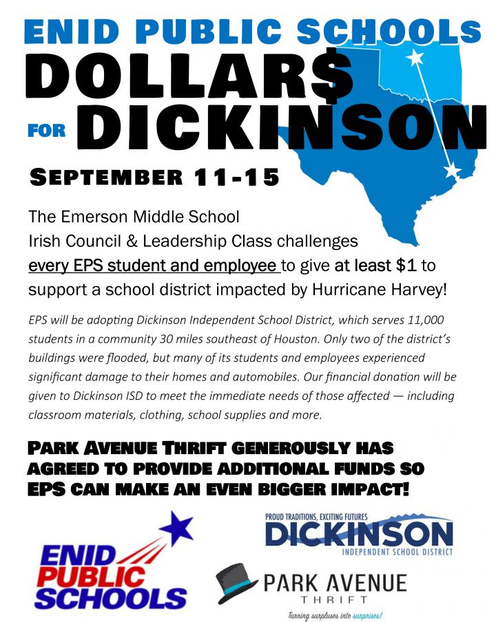 Dollars for Dickinson