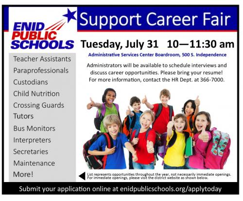 Support Career Fair