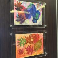 Fall Leaf Art Show for EPS Building 2015