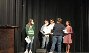 8th Grade Students of the Month Nov/Dec