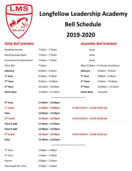 19-20 Bells