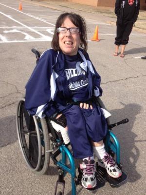 Shena at Special Olympics