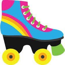colorful skate