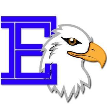 Eisenhower Eagle Mascot Varsity E