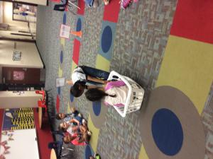 The Big Basket Investigation! We investigated how wheels make it easier to move things, including our friends!
