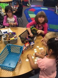 Free choice centers are so fun for Friday afternoon!