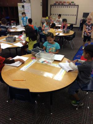 Working in our Guided Reading Journals.