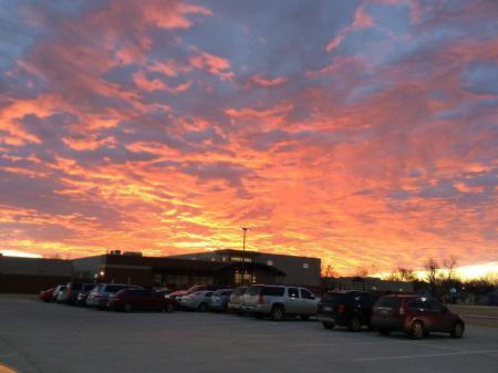 Sunrise at Garfield