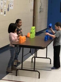 CUP STACKING RELAYS!
