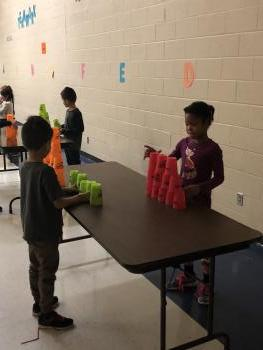 MORE CUP STACKING!