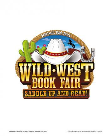 Wild west book fair logo