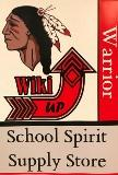 Warrior WIKI UP School Spirit and Supply Store is now open!