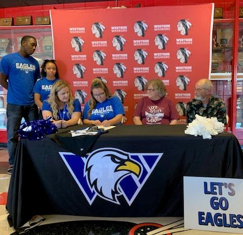 Cheer College Signing