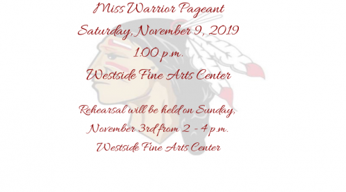 Miss Warrior Pageant 2019-20