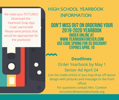 2019-2020 Yearbook Ad
