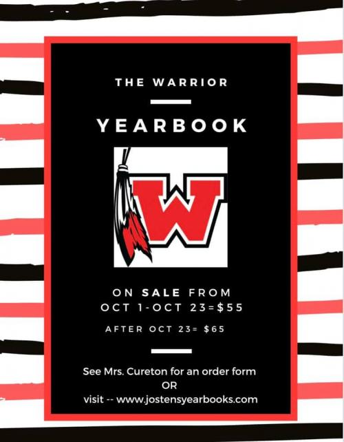 WHS Yearbook on sale now
