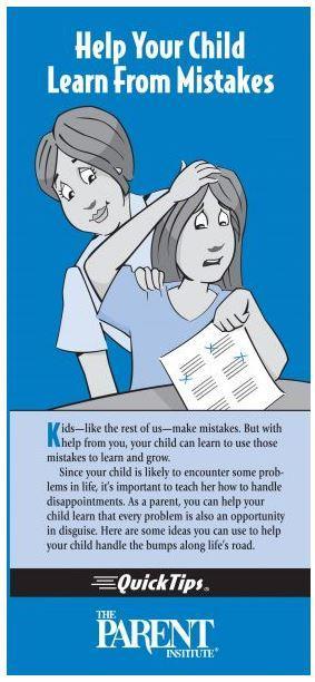 January Parent Quick Tips