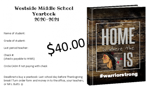 WMS 2020-2021 Yearbook
