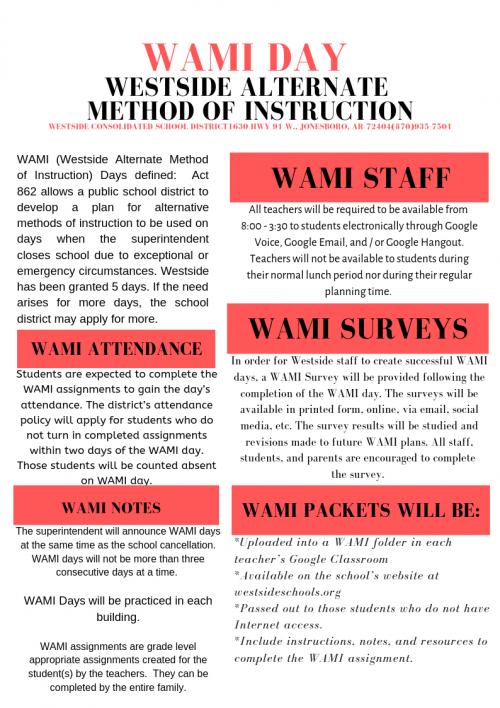 2019-2020 WAMI Packet