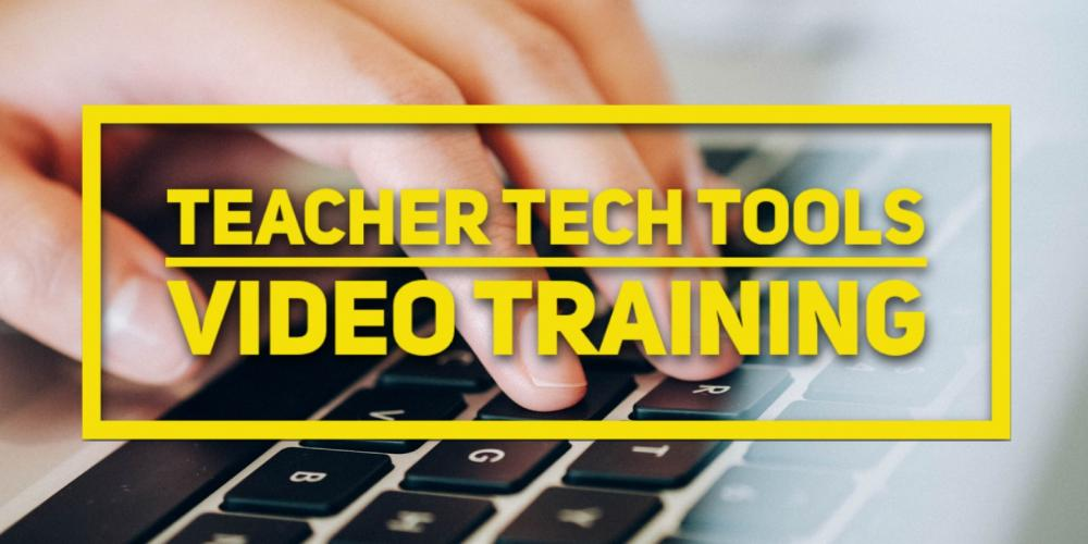 Tech Tools Training