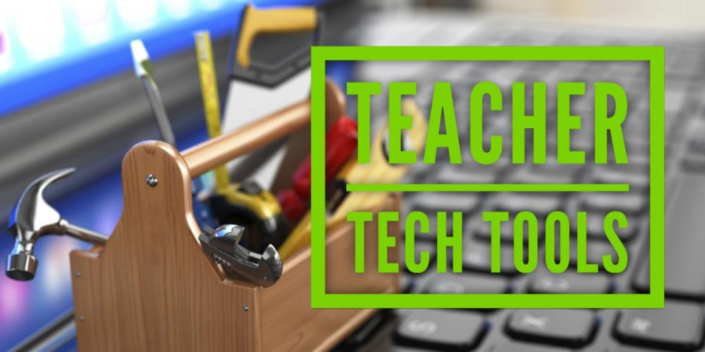 Teacher Tech Tools Header