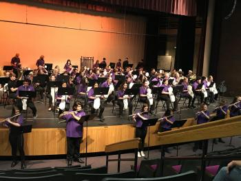 ACHS Concert Band earns top ratings
