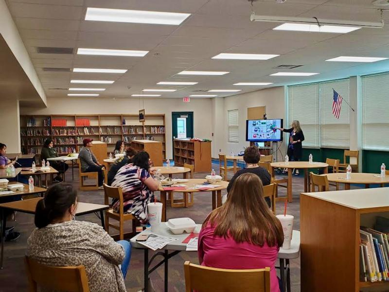 Local early childhood professionals trained in conscious discipline