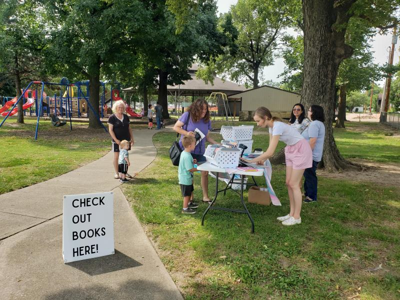 Mobile library meets kids where they're at