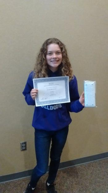 Math and Science Day Winner