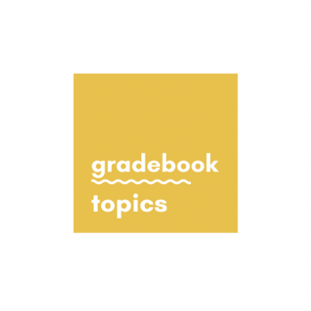gradebook topics